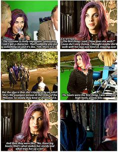 Tonks' boots.--I was truly disappointed in how little her character got any development in the films, she is one of my favorite characters.
