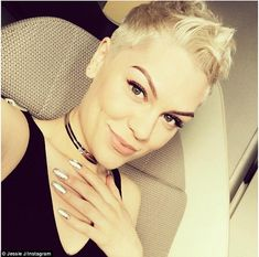 She's back! Jessie J wowed fans with a glowing selfie showing her striking facial features as she touched down in Australia on Sunday
