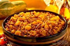 Receita de Quibebe de abóbora com carne seca - Comida e Receitas