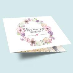 Aquarell Hochzeitskarten Sets Hochzeitseinladungen Watercolor