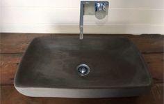 Makers Lane :: Concrete Sink Basin- Ergo Custom Made, Bespoke made in Australia.