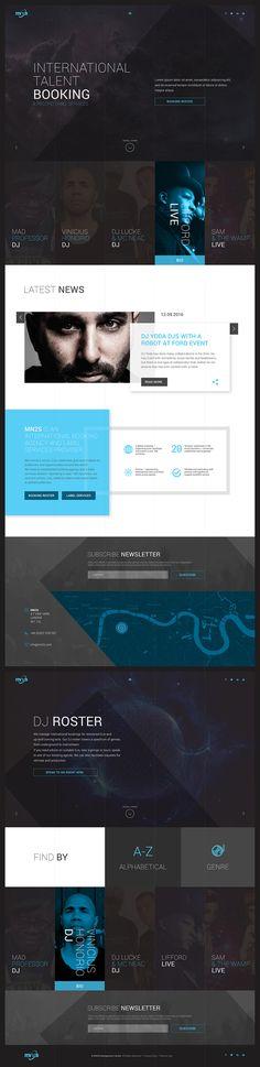 Mn2o website concept.