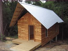 The Rural Studio House Project: An affordable house designed and built by the architecture students at Auburn University.
