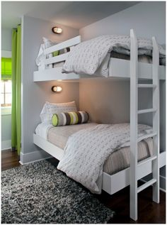 Stacked: 14 Bunk Rooms that Celebrate Form and Function. Whether you're planning a children's room, anticipating visits from multiple grandkids, building a lake house fishing retreat, or looking for the perfect beachside rental for a reunion among friends, the functionality and appeal of a bunk room cannot be denied.  Delightful design options abound!
