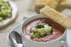 Cómo preparar gazpacho tradicional con Thermomix