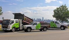Landscaping Vehicle Fleet Wrap - Ampco Grafix