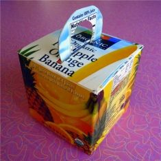Juice Carton Gift Box