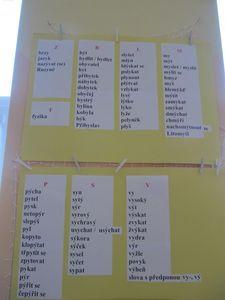 Vyjmenovaná slova - jak na ně? :: Školáci - třeťáci Personalized Items, Literatura