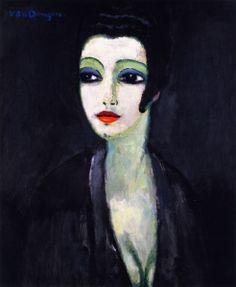 Tamara, The Painter's Muse - Kees van Dongen - The Athenaeum
