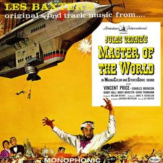 Les Baxter - Original Sound Track From... Jules Verne's Master Of The World: buy LP, Album, Mono at Discogs