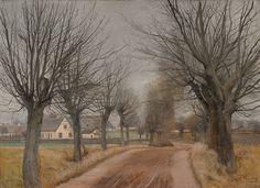 Laurits Andersen Ring (1854-1933): Vej ved Vinderød, 1898