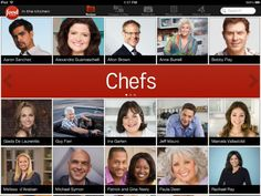 In the Kitchen offers thousands of all-star recipes from your favorite Food Network chefs