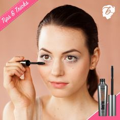 The secret to unbelievably long lashes? The wand of our they're real! mascara. For a doe-eyed look, turn the wand vertically & define outer lashes with the tip. #tipsandtricks #benefitbeauty