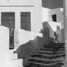 Henri Cartier-Bresson - Picture of Greek island of Sifnos 1950s