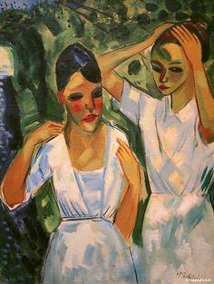 Max Pechstein, Sunlight, 1921