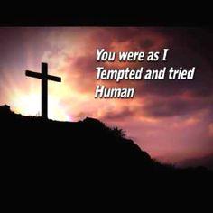 God was like us, human