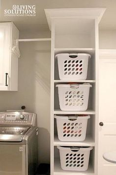 25 Ways to Give Your Small Laundry Room a Vintage Makeover Laundry room organization Small laundry room ideas Laundry room signs Laundry room makeover Farmhouse laundry room Diy laundry room ideas Window Front Loaders Water Heater Laundry Basket Shelves, Laundry Room Organization, Laundry Room Design, Laundry Storage, Laundry Basket Dresser, Ironing Board Storage, Laundry Hamper Cabinet, Tall Laundry Basket, Laundry Basket Holder