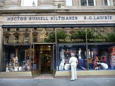 Hector Russell Kiltmaker, Buchanan Street, Glasgow