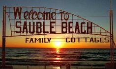 This is where we went with you. Beach Cottages, Ontario, Places Ive Been, The Good Place, To Go, Spaces, Adventure, Awesome, Fun