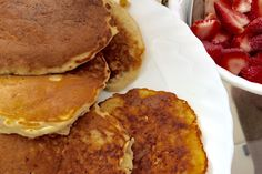 The main reason I keep a pancake mix in the pantry is so that my husband can keep waking me up to pancakes on Saturday mornings. I re...