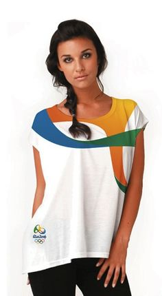 The branding for Rio's 2016 Olympics is just gorgeous. Check out that shirt!