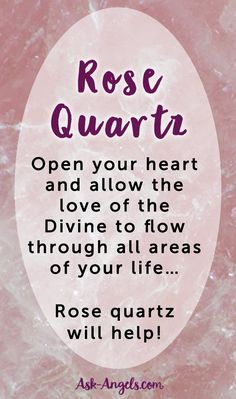 Rose Quartz is well known to be a love stone due to it's beautiful and loving vibration. Rose quartz will help you to open your heart chakra.