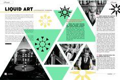 Countlan Magazine Issue 05 Liquid Art spread
