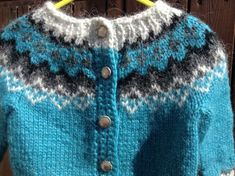Made to order Icelandic sweater baby cardigan sweater Handmade Shop, Etsy Handmade, Handmade Gifts, Icelandic Sweaters, Fair Isle Pattern, Boys Sweaters, Sweater Making, Baby Cardigan, Etsy Crafts