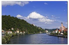 Die blaue Donau one of germany's rivers so pretty