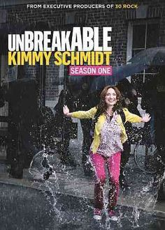 Unbreakable Kimmy Schmidt Created by Robert Carlock, Tina Fey. With Ellie Kemper, Jane Krakowski, Tituss Burgess, Carol Kane. A woman is rescued from a doomsday cult and starts life over again in New York City. Tina Fey, Jane Krakowski, Ellie Kemper, Movies And Series, Movies And Tv Shows, Comedy Series, Comedy Tv, Top Movies, High Society