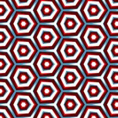 Retro Mesmerizing fabric by stoflab on Spoonflower - custom fabric
