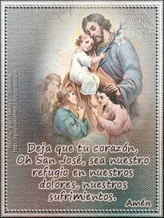 St Joseph Prayer, Saints, Religion, Prayers, Quotes, Religious Quotes, Spirit Quotes, Religious Pictures, Thank You God