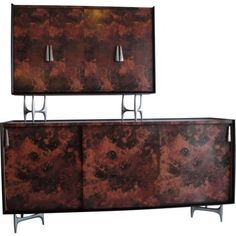 Check out this item at One Kings Lane! Donald Deskey Cabinet w/ Hutch