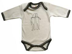 Organic Baby Clothes at Organic Baby Wearhouse, Organic Cotton Bodysuit (Harmonize)http://www.organicbabywearhouse.com