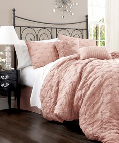(blush) Peach Lake Como Comforter Set                                                                                                                                                     More