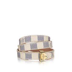 €205 Bracciale Box It Tela Damier Azur - Accessori | LOUIS VUITTON