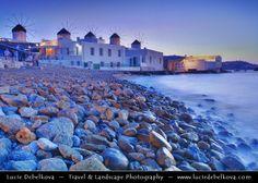 Greece - South Aegean - Cyclades - Mykonos - Greek Island in Mediterranean Sea - Chora - Iconic Wind by Lucie Debelkova -  Travel Photography - www.luciedebelkova.com on 500px