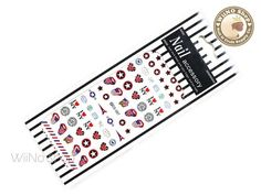 Rolling Stone Water Slide Nail Art Decals - 1pc (DS-087)