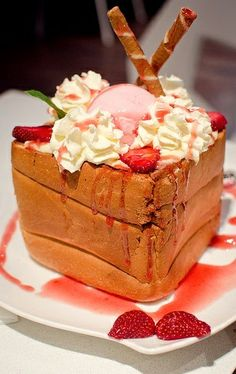 Japanese Honey Toast