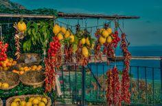 Amalfi Coast, spices Campania, Italy
