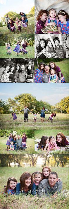 family photo shoot ideas