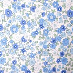 Sevenberry Retro Flower - Blue  http://www.thehomemakery.co.uk/fabric/fabric-all/sevenberry-retro-flower-blue