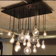 Industrial bulb lighting