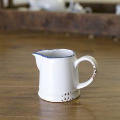 enamel 'canteen' milk jug by the orchard | notonthehighstreet.com