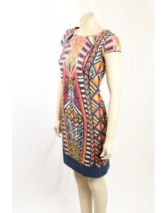 Printed navy, pink, white and yellow stretch cotton verstile dress from Adrianna Papell. The dress is fully lined and has cap sleeves. Navy Pink, Pink White, Yellow, Adrianna Papell, Printed Cotton, Cap Sleeves, Designer Dresses, Tommy Hilfiger, Casual Dresses
