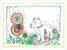Countryside Canine by Jo Chambers Graphic Art on Canvas