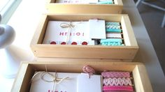 DIY a stationary kit for anyone away from home.  Make sending snail mail as much fun as receiving!