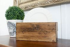 Great how to on making a herb crate similar to ones seen on decorating blogs, but costing so much less.