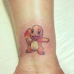 #Pokemondays #10 Courtesy of @iamrossib for this cheeky Charmander tattoo! #charmander #pokedex #pokemon #pokemontattoo #nintendo #nintendotattoo #videogametattoo #gamertattoo #videogametatts #gametattoo #tattoo #gamer #colourtattoo #colortattoo Thanks for the contribution!