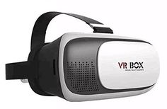 Lcyyo@ VR BOX Virtual Reality Headset VR 3D Video Game Movie Glasses for Smart Phone (White). VR BOX - Greatly enjoy a private visual feast comfortably and convenient to use, allowing you watch at anytime anywhere whether sitting, lying or standing as you like, no need any software, it is a great companion for traveling or staying house. Phone System & Size - Suitable for almost all kinds of smart phones ( Android / IOS, etc) that screen between 3.5 - 6.0 inches. Adjustable - Adjustable...